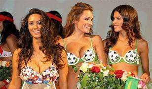 Seksowne kobiety piłkarzy