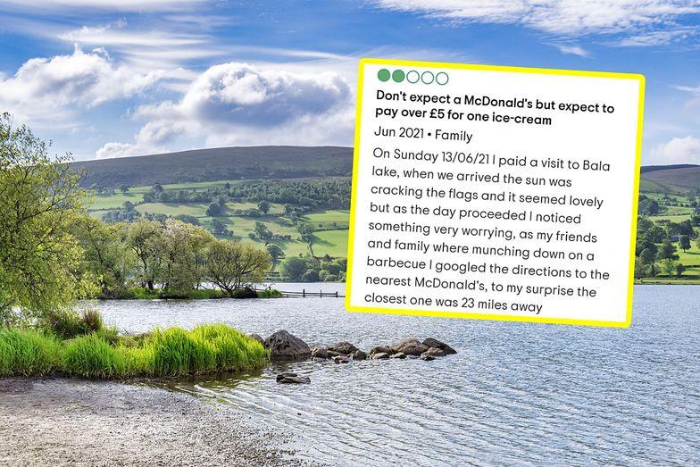"""Turysta skrytykował jezioro. """"Za daleko do najbliższego McDonalda"""""""