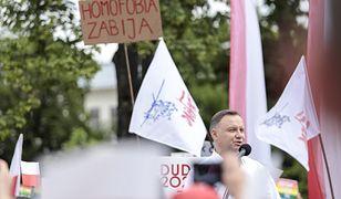 Wybory 2020. Andrzej Duda w Lublinie