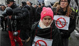 Demonstracja frankowiczów. Wciąż czekają na kompleksową pomoc państwa