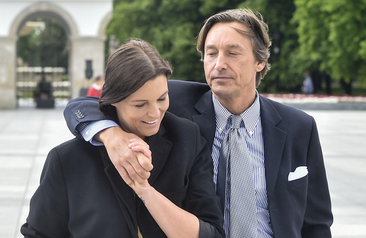 Ilona Felicjańska i Paul Montana w maju 2020 r. Dwa miesiące później mówili o rozwodzie