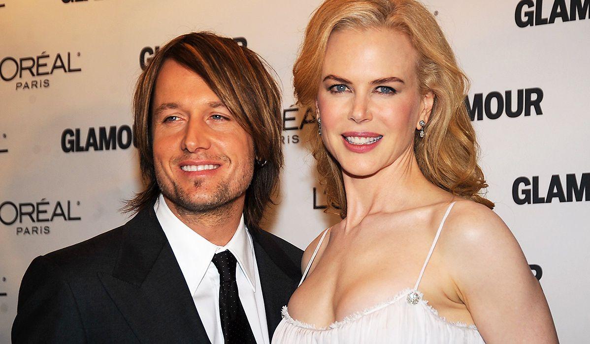 Nicole Kidman wraz z mężem są szczęśliwi.