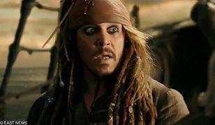"""Johnny Depp nie zagra już Jacka Sparrowa w """"Piratach z Karaibów"""""""