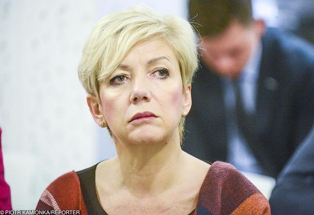 Podczas spotkania członków partii w biurze Agnieszki Hanajczyk znaleziono urządzenie