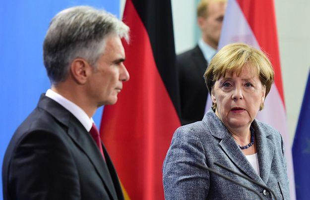 Werner Faymann i Angela Merkel.