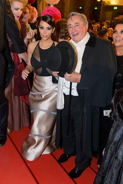 Kim Kardashian, Richard Lugner