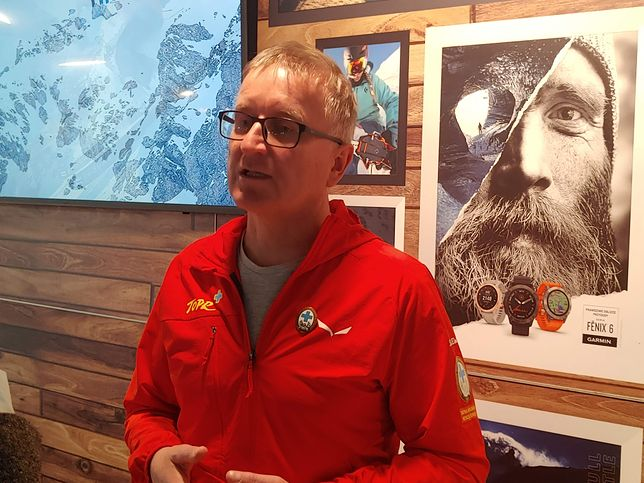 Naczelnik TOPR, Jan Krzysztof, mówi o problemach i rozwiązaniach dla turystów