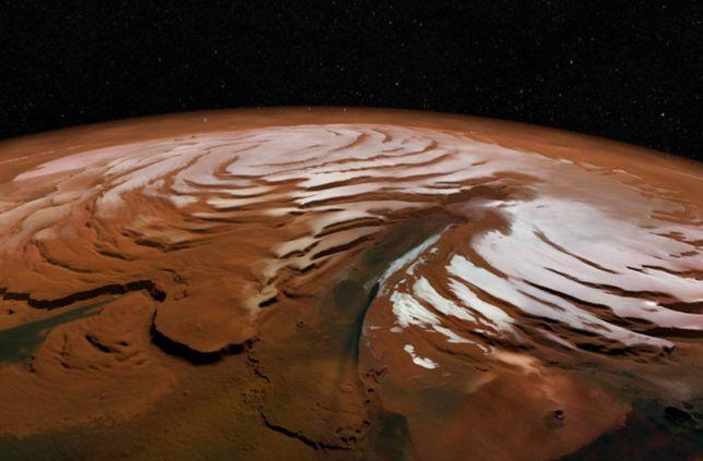 Narzekasz, że znowu pada? To jeszcze nic - na Marsie spadł już...śnieg.