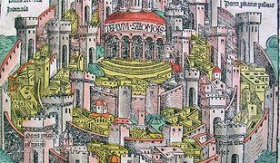 Średniowieczne przedstawienie Jerozolimy.