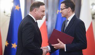 Andrzej Duda powierzył Mateuszowi Morawieckiemu misję utworzenia nowego rządu