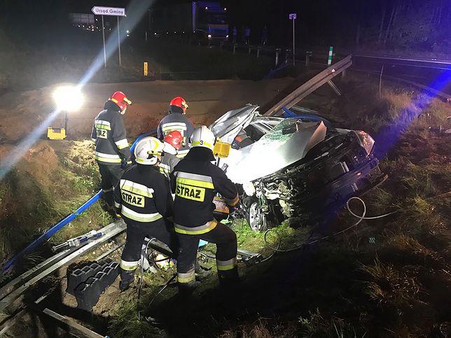 Przyczyny wypadku wyjaśnia świętokrzyska drogówka