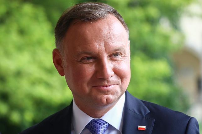 Prezydent Andrzej Duda miał wypadek na skuterze wodnym