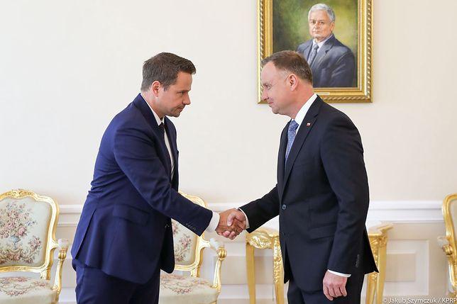Spotkanie w Pałacu Prezydenckim (fot. TT Kancelaria Prezydenta)