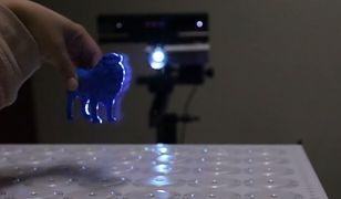 Holograficzny wyświetlacz, który pozwoli rysować w powietrzu