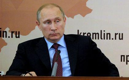 """Putin liczy na UE, że """"pomoże Ukrainie przezwyciężyć braki finansowe"""""""