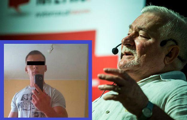 Wnuk Lecha Wałęsy po raz pierwszy od wypadku zabiera głos