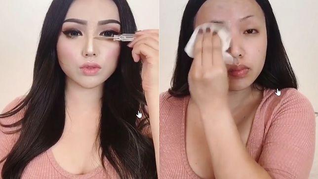 Dziewczyny z Azji całkowicie zmieniają swój wygląd.