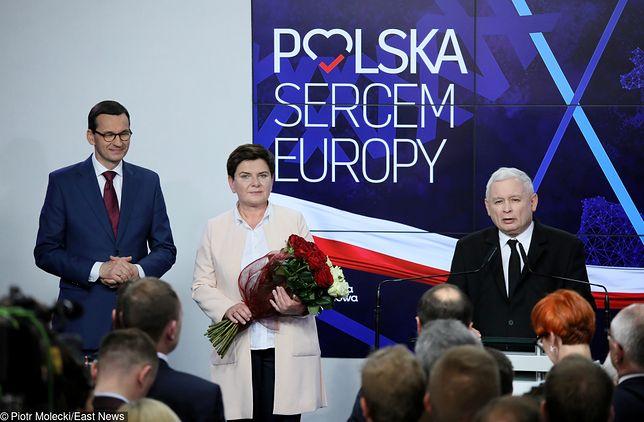Po wyborach parlamentarnych 2019 Polacy widzieliby jako premiera Morawieckiego niż Kaczyńskiego lub Szydło