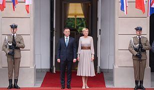 Na parę książęcą czekał Andrzej Duda z małżonką.