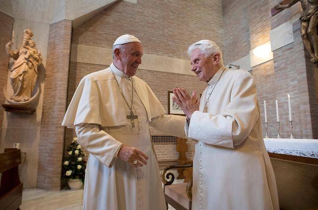 Papież-emeryt Benedykt XVI apeluje do papieża Franciszka. Czy Franciszek go posłucha?