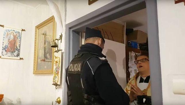 Poznań. Msza święta w czerwonej strefie. Interwencja policji