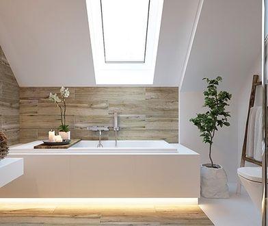 Łazienka na poddaszu. Inspiracje, pomysły i koszty