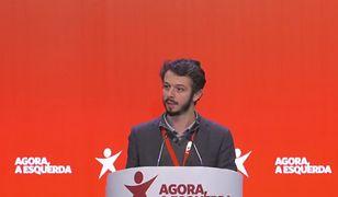 Portugalia: Blok Lewicy (BE) chce legalizacji instytucji surogatki. (na zdjęciu deputowany BE, Moises Ferreira)