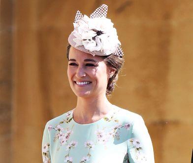 Pippa Middleton nieświadomie wybrała dość niefortunny wzór sukienki