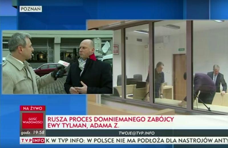 Wpadka TVP Info w relacji z procesu Adama Z. KRRiT chce wyjaśnień