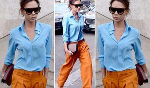 LOOK OF THE DAY: Kolorowa elegancja Victorii Beckham