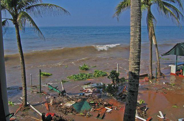 Fale tsunami na Sri Lance