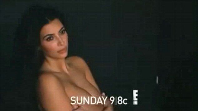 Kim Kardashian promuje kolejny sezon reality show. Tym razem nago