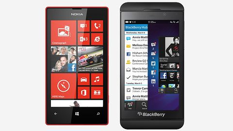 Windows Phone zyskuje na porażce BlackBerry 10