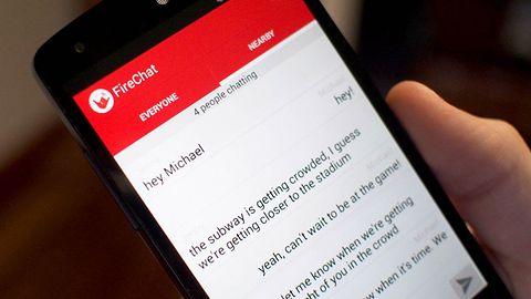 Nietypowy komunikator FireChat teraz dostępny także dla użytkowników Androida