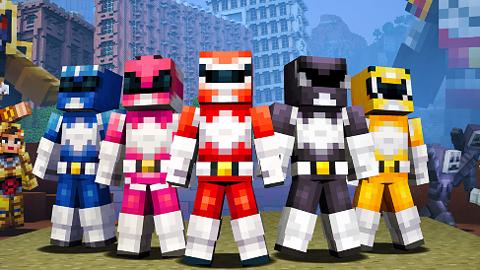 Zderzenie fenomenów: Power Rangers w Minecrafcie