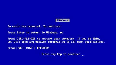 BSOD w zegarku: poznajcie smartwatcha z Windowsem 98