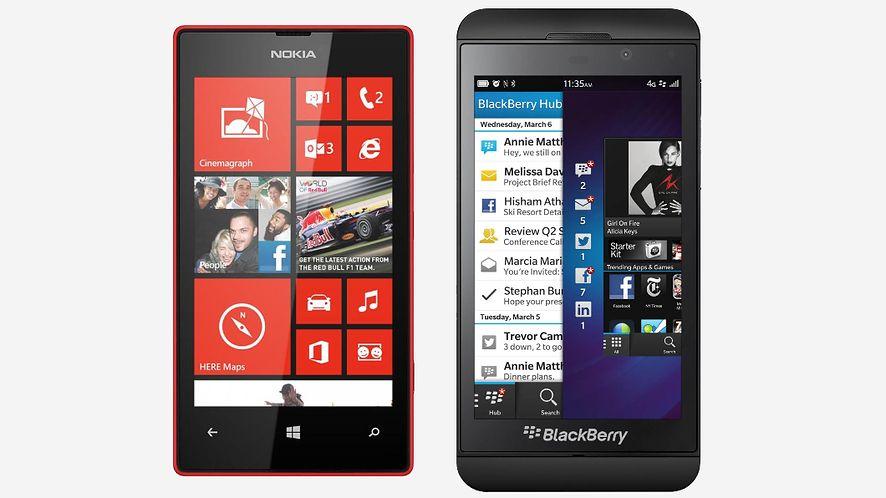 Windows Phone zyskuje na porażce BlackBerry 10