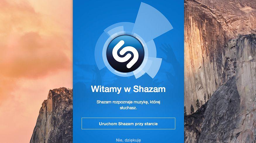 """Shazam rozpozna piosenki, które """"usłyszy"""" Mac"""