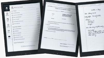 Sony prezentuje 13,3-calowy tablet z wyświetlaczem E-Ink Mobius