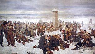 Aleksander Sochaczewski, Pożegnanie Europy, 1894.