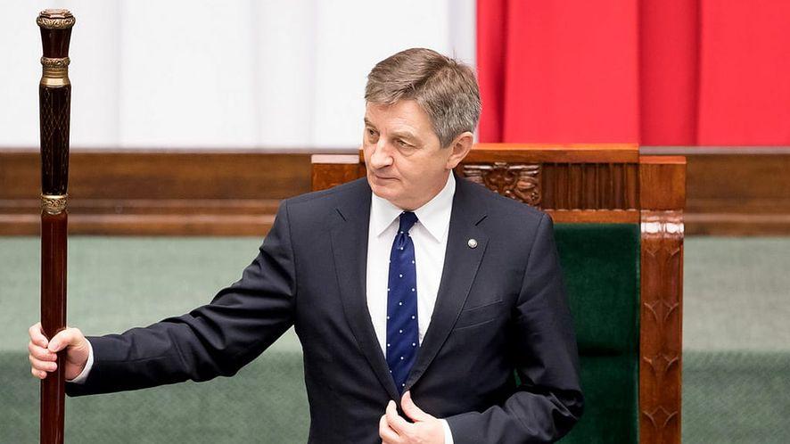 Poseł Marek Kuchciński poinformował o przejęciu konta na Facebooku