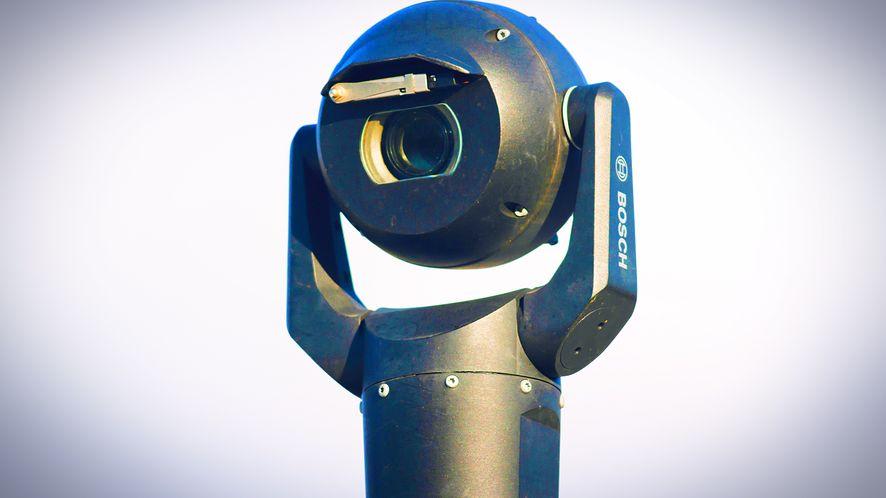System rozpoznawania twarzy używany w monitoringu meczów piłki nożnej w UK, fot. Matthew Horwood/Getty Images
