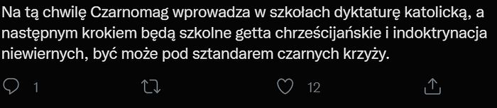 Odpowiedzi na słowa Czarnka