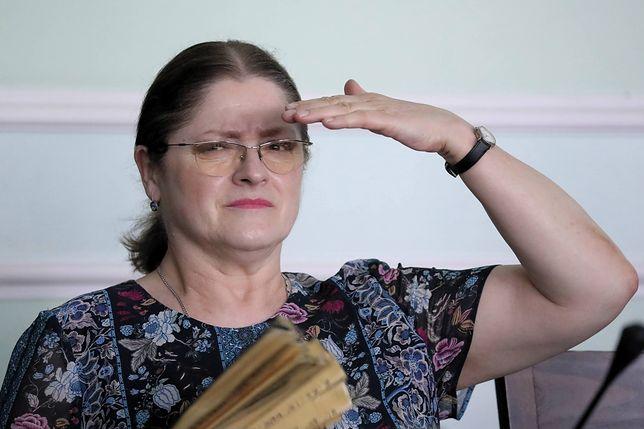 Krystyna Pawłowicz jest znana z ostrego języka