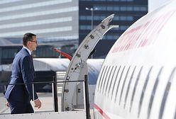 Usterka rządowego samolotu. Na pokładzie premier Mateusz Morawiecki