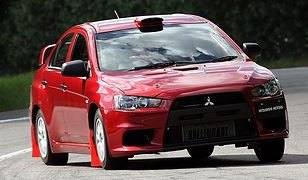 N-grupowy Mitsubishi Lancer Evolution X
