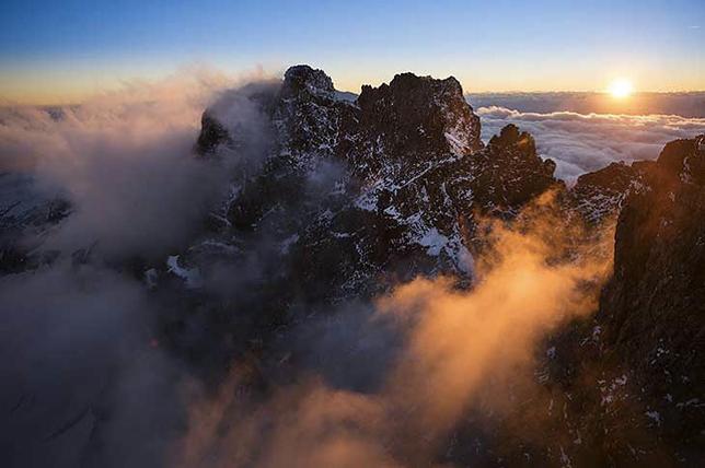 Szwajcaria z nieba i przez szybę