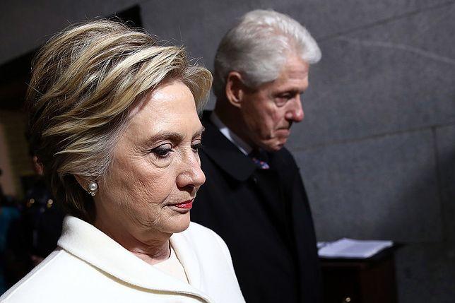 Pożar w posiadłości Clintonów