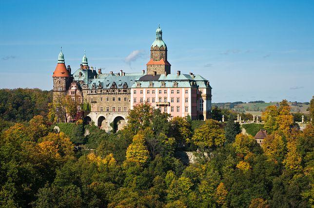 Tajemnicze atrakcje - zamek Książ