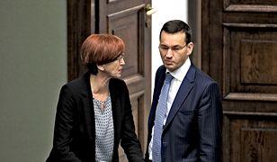 Wicepremier Morawiecki i minister Rafalska długo nie mogli dojść do porozumienia w kwestii reformy OFE